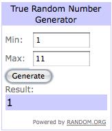 Number generator:BPW 8:26