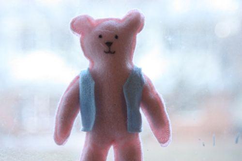Felt teddybear