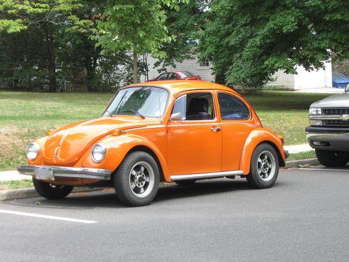 Orange buggy