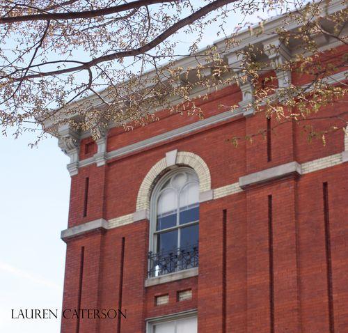 Lenape building corner