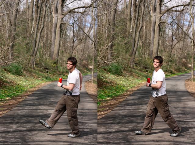 Harry walking