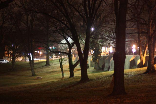 Doylestown at night