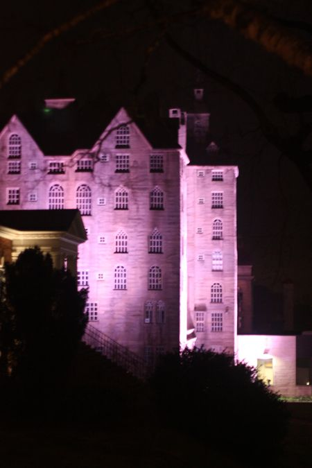Mercer Museum at night3
